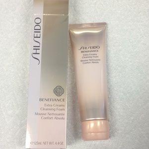 Shiseido benefiance cleansing foam